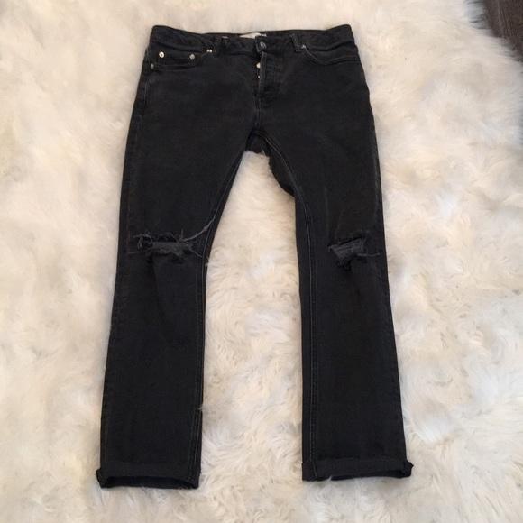 8f0cc063 Topman Jeans | Distressed Slim Stretch Fit | Poshmark